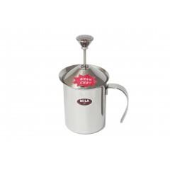 MILA 雙層彈簧奶泡杯 200ml
