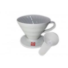 ⁎ Hario VDC-02 V60陶瓷圓錐濾杯 1~4人份