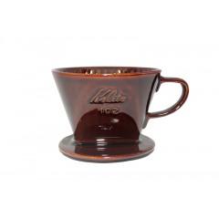 Kalita 102陶瓷濾杯 咖啡色